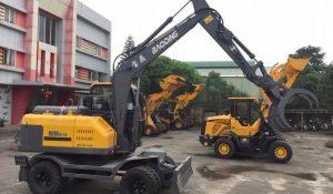 Hướng dẫn bảo dưỡng máy xúc đào Baoding BD95W-9